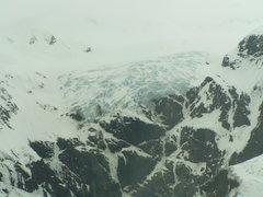 Rock Climbing Photo: Davidson Glacier