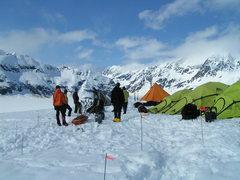 Rock Climbing Photo: The Group, Davidson Glacier