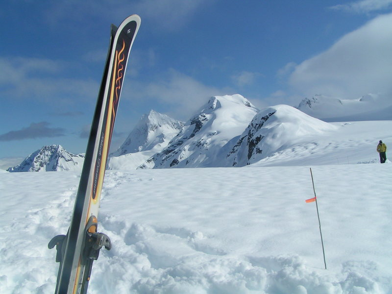 My Skis are so lucky