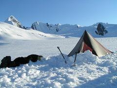 Rock Climbing Photo: Kitchen Tent