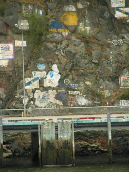 Rock Climbing Photo: Ship Cemetary