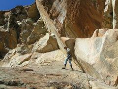 Rock Climbing Photo: Kaze Rapelling Angles Way