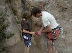 Rock Climbing Photo: Guiding Tonys Tango
