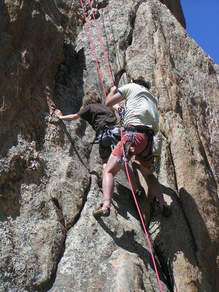 Rock Climbing Photo: Guiding Tonys Tango..Good Thing I know how to do a...