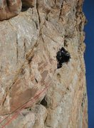 Rock Climbing Photo: Guiding Zig Zag in the winter 2009 / 5.9 with Jaco...