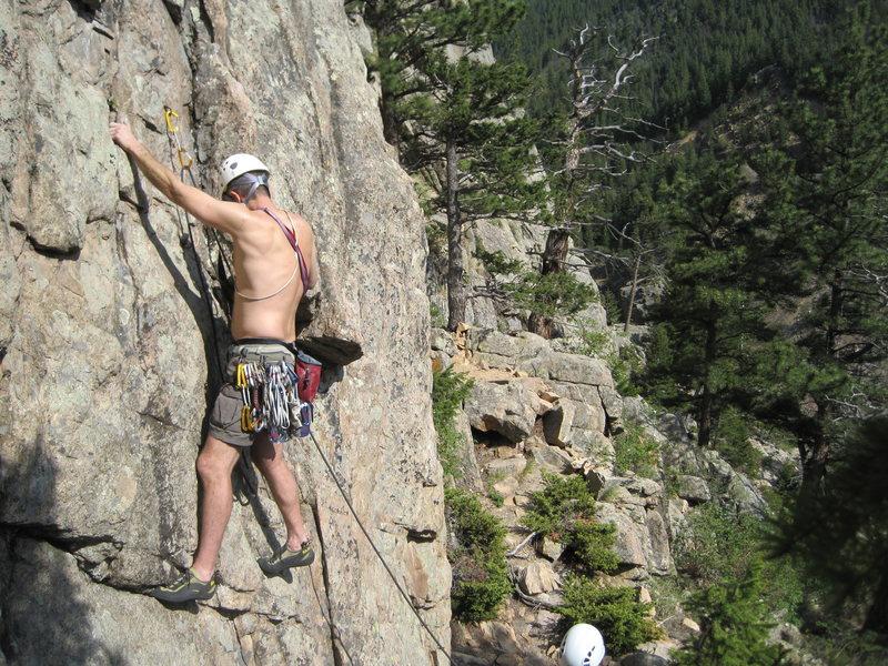 West of Boulder somewhere!
