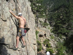 Rock Climbing Photo: West of Boulder somewhere!