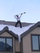 Rock Climbing Photo: King of the Snow