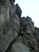 Rock Climbing Photo: Guiding / Unknown with Terry 2010