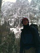 Rock Climbing Photo: ice is nice and will surfice
