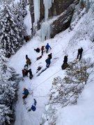 Rock Climbing Photo: A popular spot!