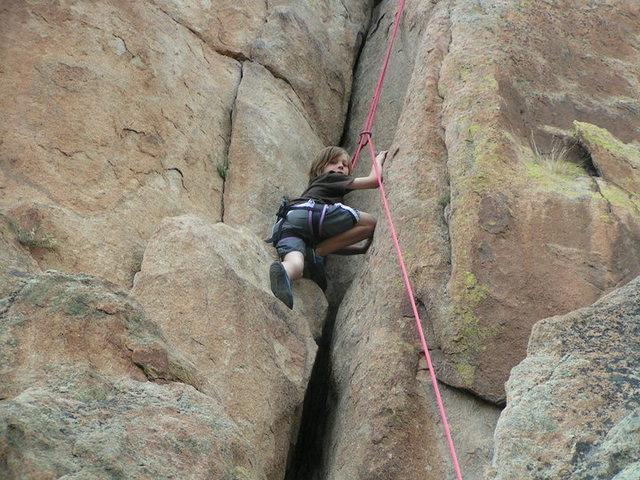 Rock Climbing Photo: Guiding Tonys Tango