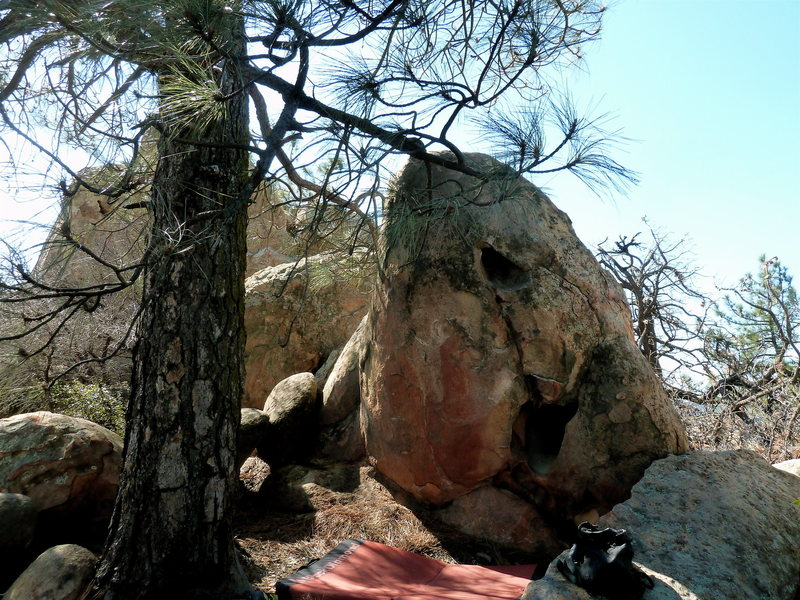 Rock Climbing Photo: Nick's Problem