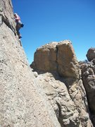 Rock Climbing Photo: Lauren Mulvaugh at Ridgeline
