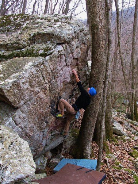 "Rock Climbing Photo: Aaron James Parlier on ""Top Ramen"""