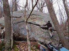 "Rock Climbing Photo: Kevin on ""Light show"""