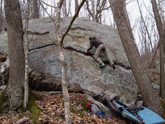 "Rock Climbing Photo: Kevin on ""Light show"""