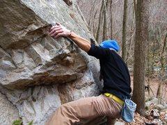 "Rock Climbing Photo: Aaron James Parlier on ""Golightly"""