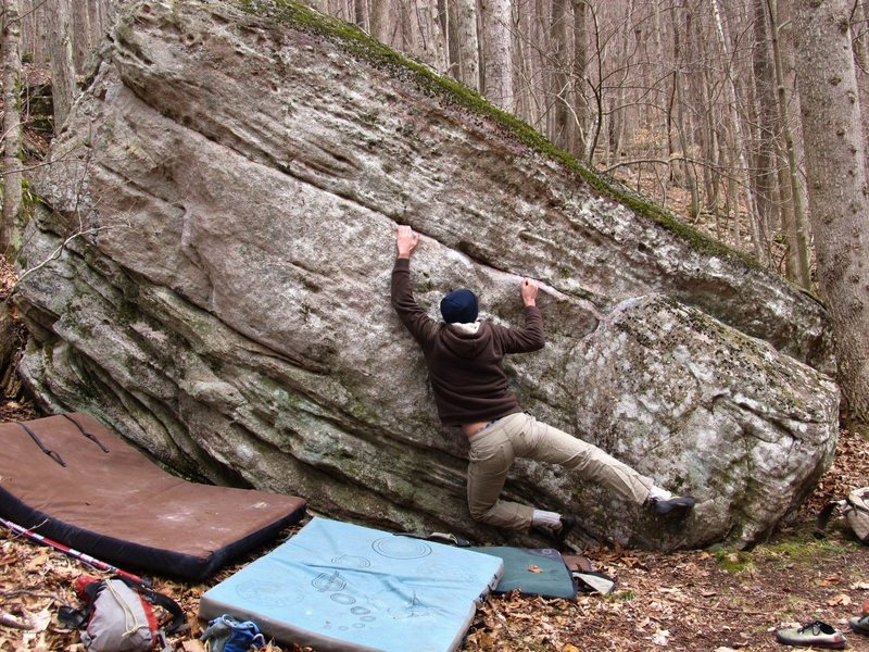 "Rock Climbing Photo: Kevin Kelly on ""Side Show"""