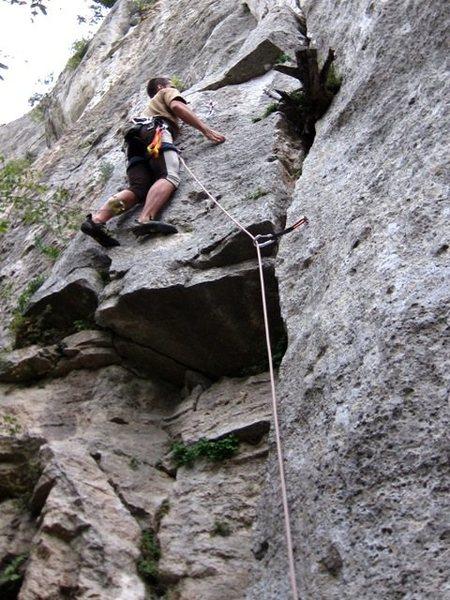 Rock Climbing Photo: Start of La Pulce