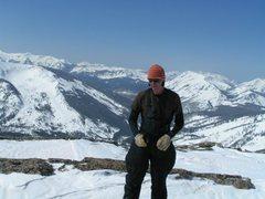 Rock Climbing Photo: Whetstone Mountain on the top...Yeah Jacob