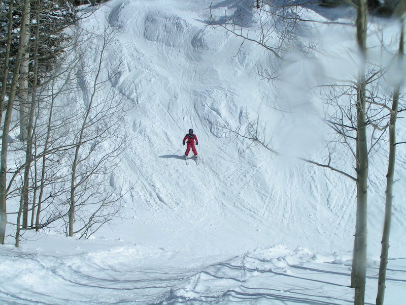 Rock Climbing Photo: Cathern Skiing Bumps
