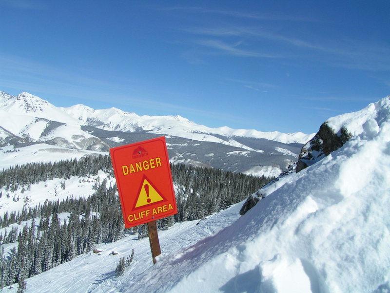 Rock Climbing Photo: Danger