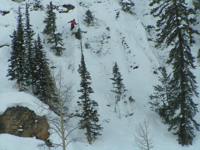 Skiing Mt. Crested Butte Ski Resort