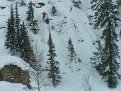 Rock Climbing Photo: Skiing Mt. Crested Butte Ski Resort