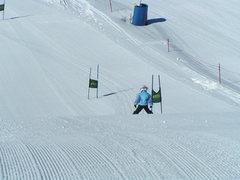Rock Climbing Photo: Teaching how to run a slalom course