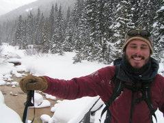 Rock Climbing Photo: Guiding Ski Minning Trip / Ouray Colorado / 2007 w...