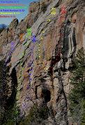 Rock Climbing Photo: Left/Center Main Wall