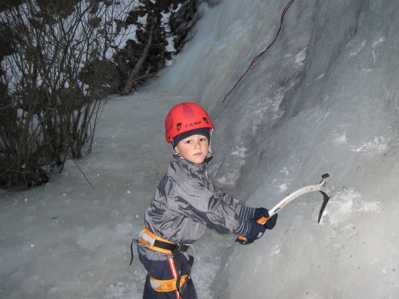 Evan's 1st stick