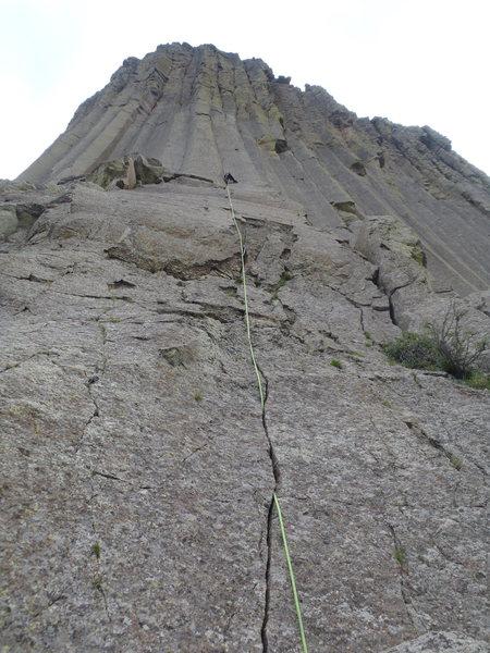 Rock Climbing Photo: beginning of spiney