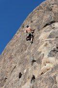 Rock Climbing Photo: Nelson on Gun for Hire