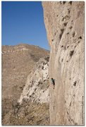 Rock Climbing Photo: Halfway up a route at The Diamond