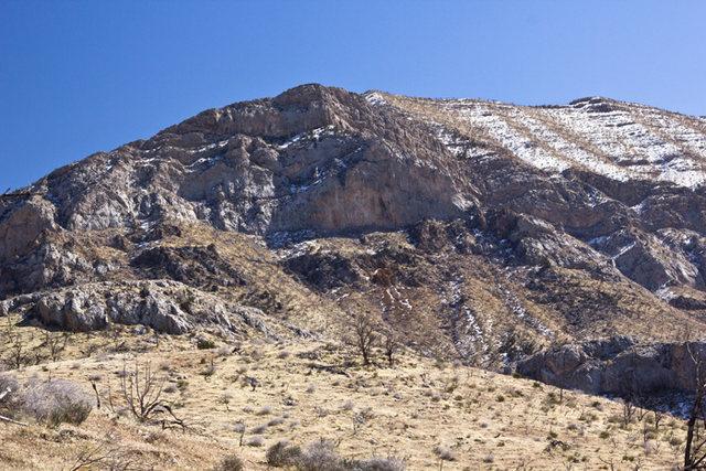 View of the Diamond near Gorilla Cliffs.