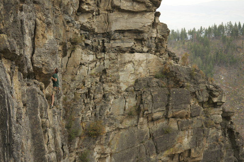Michael Moore on the first ascent of Fantastick