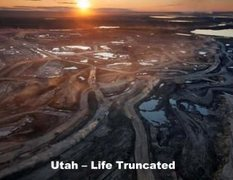 Rock Climbing Photo: Tar sand mine.