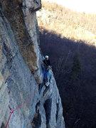 Rock Climbing Photo: BGraham on belay.