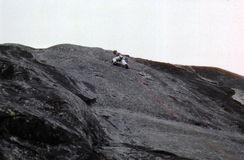 Rock Climbing Photo: could this photo be on this route? ca:1983 Im not ...