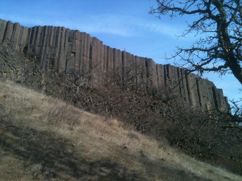 Rock Climbing Photo: Hidden Valley Wall