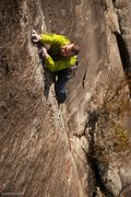 Rock Climbing Photo: Jon Jones in the business. Photo: brayackmedia.com