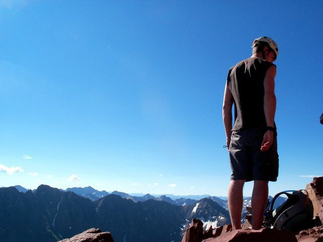 Rock Climbing Photo: Elk Range, CO