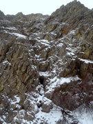 Rock Climbing Photo: The start of the Alpine Simulator