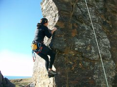 Rock Climbing Photo: Goat Rock Beach