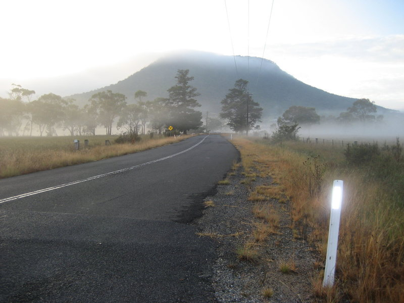 Mt. York coming from Lithgow on Browns Gap Road