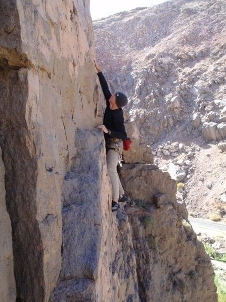 Rock Climbing Photo: Somewhere at Owens River Gorge