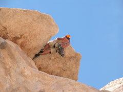 Rock Climbing Photo: Tony Moser on Geronimo