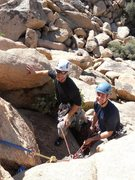 Rock Climbing Photo: Joshua Tree, CA w/ brother
